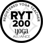 Registered Yoga Teacher 200 Hours Label